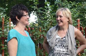 Yvonne Skanlert Werner och Magdalena von Rosen